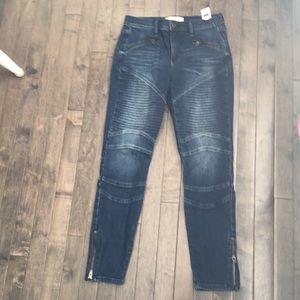 Gap moto jeans 27
